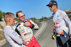 Sébastien Ogier, M-Sport, Ott Tänak, M-Sport, Jari-Matti Latvala, Toyota Racing