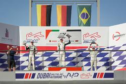 Podium: ganador, Leon Köhler, Rasgaira Motorsports, segundo, David Schumacher, Rasgaira Motorsports,