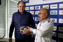 Press Conference: Gerhard Berger, ITR Chairman and Masaki Bando, Chairman GTA