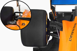 McLaren MCL33 rear suspension detail