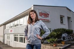 Cyndie Allemann, Spirit Karting
