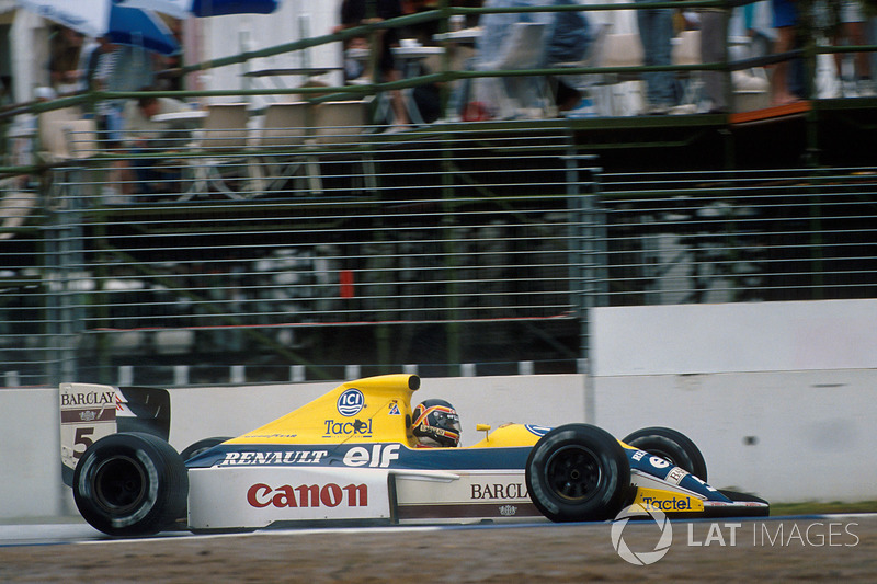 1989 : Williams-Renault FW13