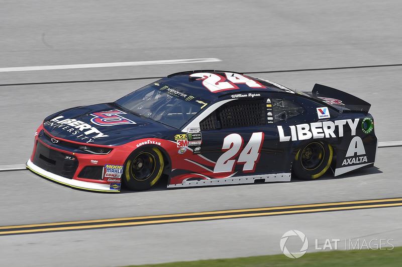 17. William Byron, Hendrick Motorsports, Chevrolet Camaro Liberty University