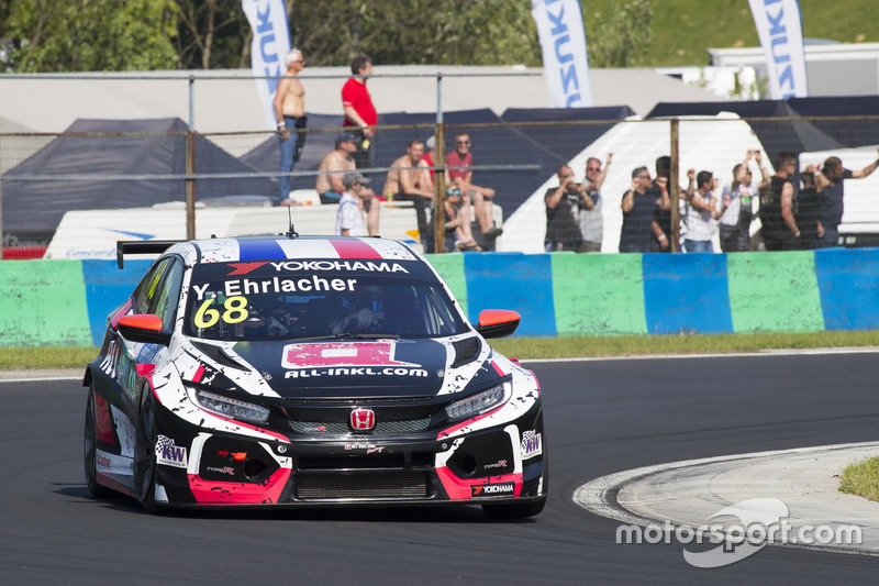 68 ERLACHER Yann (FRA), ALL-INKL.COM Munnich MotoYann Ehrlacher, ALL-INKL.COM Münnich Motorsport Honda Civic Type R TCR