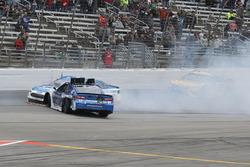 Alex Bowman, Hendrick Motorsports, Chevrolet Camaro Nationwide, spins