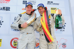 Podium: #588 Porsche 911 GT3 Cup (997): Ralf Schall, Christopher Gerhard