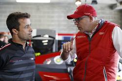 #39 Audi Sport Team WRT Audi R8 LMS: Pedro Lamy, Chris Reinke, Head of Audi Sport Customer Racing