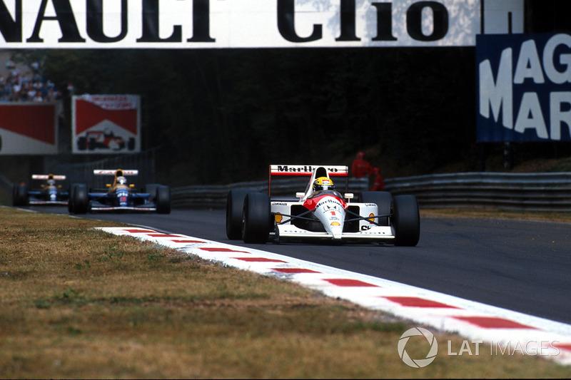 6. Італія-1991, Монца - Айртон Сенна, McLaren MP4/6: 257,416 км/год