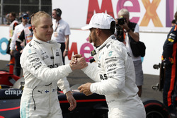 2017 World Champion Lewis Hamilton, Mercedes AMG F1, Valtteri Bottas, Mercedes AMG F1