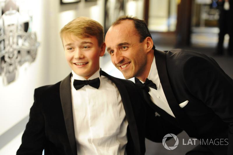 Robert Kubica ve Billy Monger