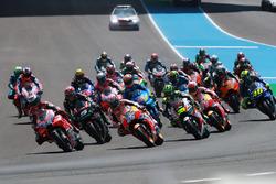 Jorge Lorenzo, Ducati Team mène au départ