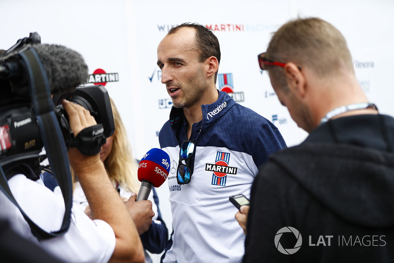 Robert Kubica, Williams Martini Racing