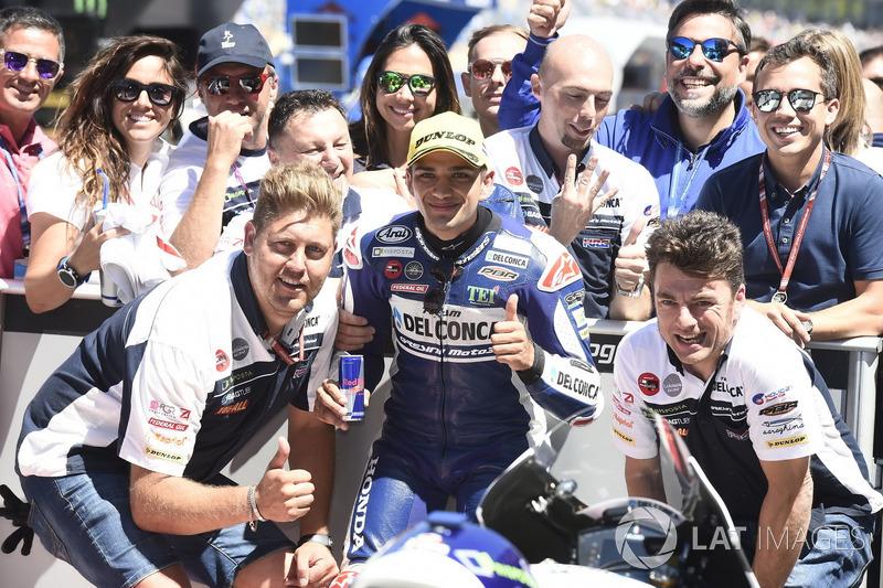 Pole position for Jorge Martin, Del Conca Gresini Racing Moto3