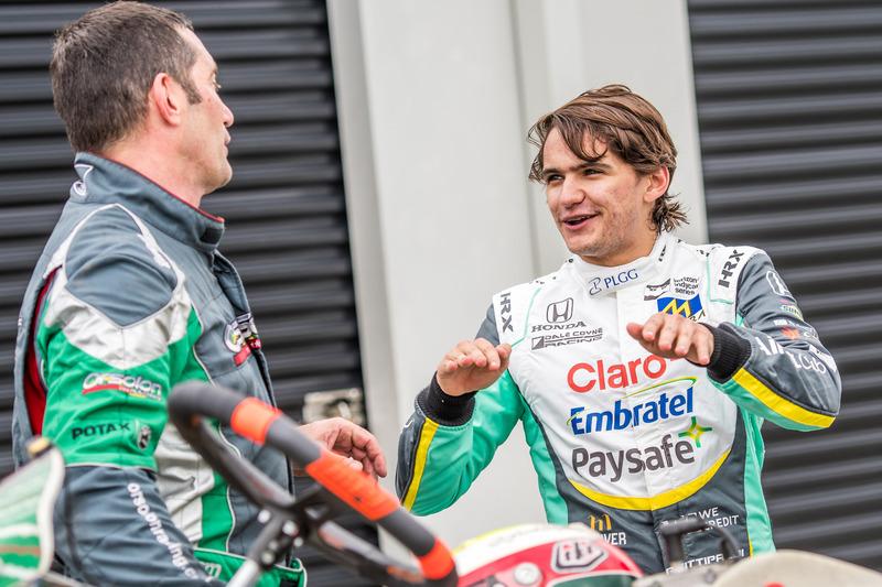 Pietro Fittipaldi karting günü