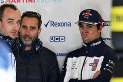 Lance Stroll, Williams and Robert Kubica, Williams