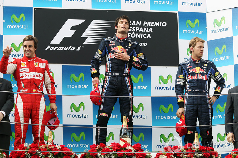 Sebastian Vettel, GP da Espanha 2010 / Posição: 3º