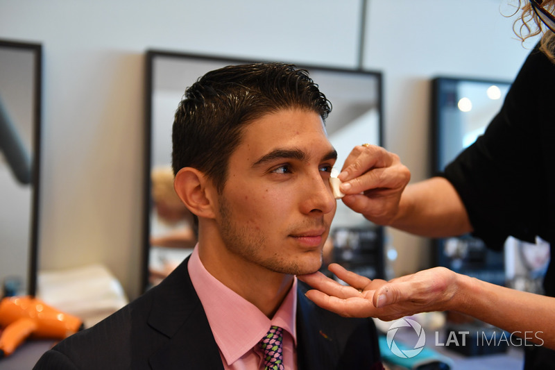 Esteban Ocon, Force India F1 in make up