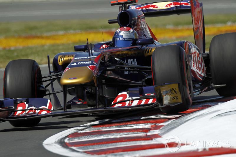 Sébastien Buemi, pilote de réserve Toro Rosso