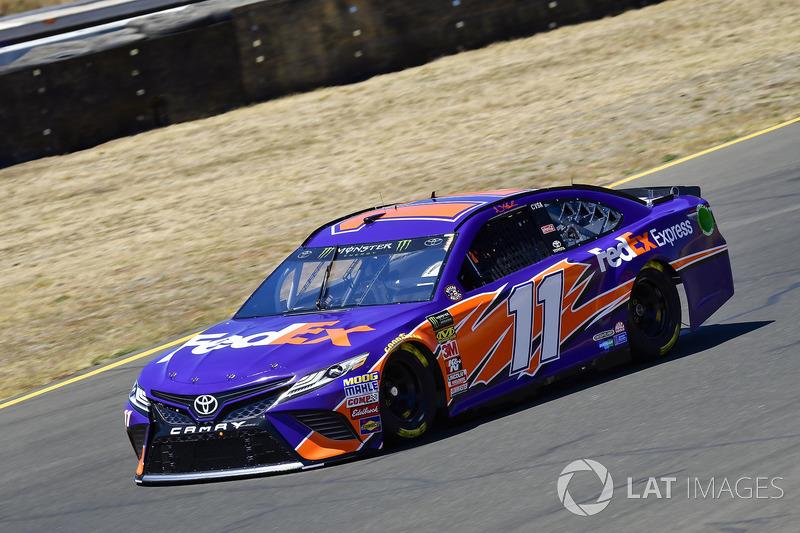 21. Denny Hamlin, Joe Gibbs Racing, Toyota Camry FedEx Express