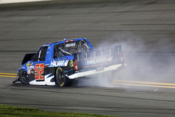 Crash, Stewart Friesen, Halmar Friesen Racing Chevrolet Silverado