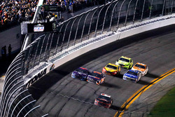 Austin Dillon, Richard Childress Racing Chevrolet Camaro takes the checkered flag