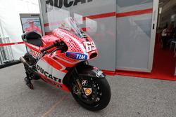 La Ducati de Nicky Hayden
