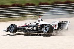 Abflug: Josef Newgarden, Team Penske Chevrolet