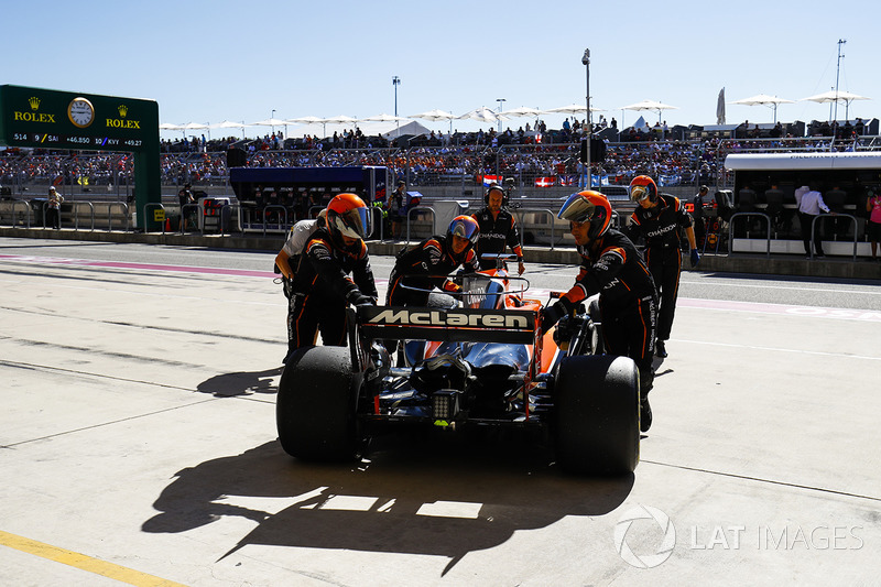 Abandon : Fernando Alonso (McLaren-Honda)
