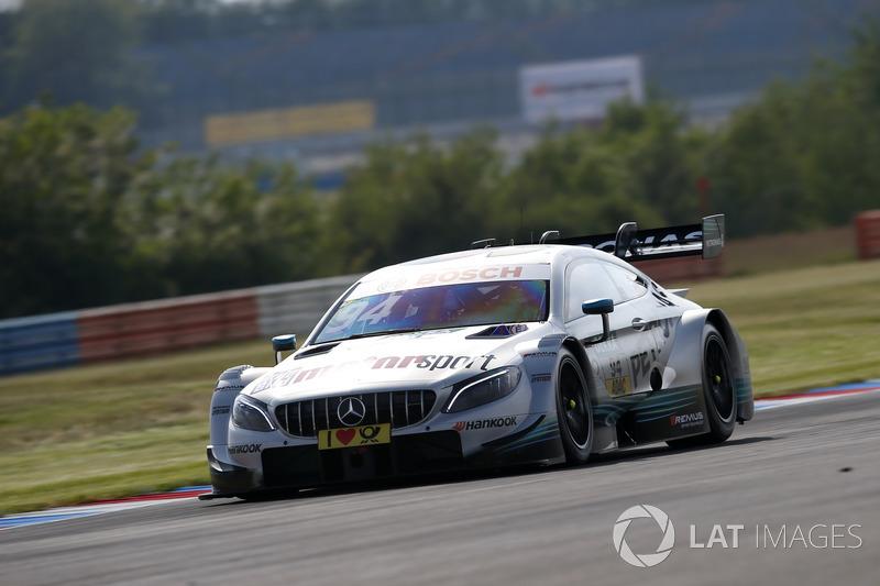 2. Pascal Wehrlein, Mercedes-AMG Team HWA, Mercedes-AMG C63 DTM