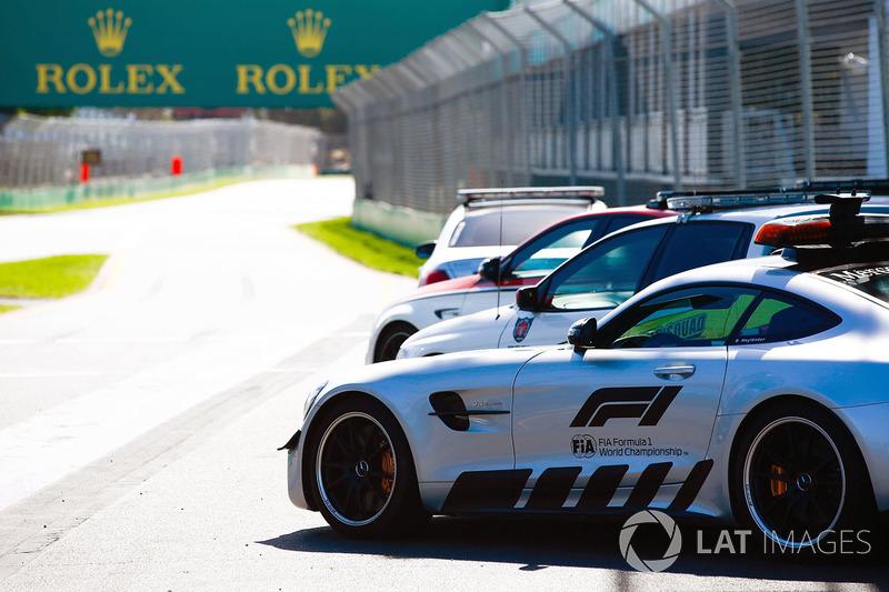 Mercedes-AMG GTR, Safety car FIA Formula 1 e Mercedes-AMG C63 S, Medical Car