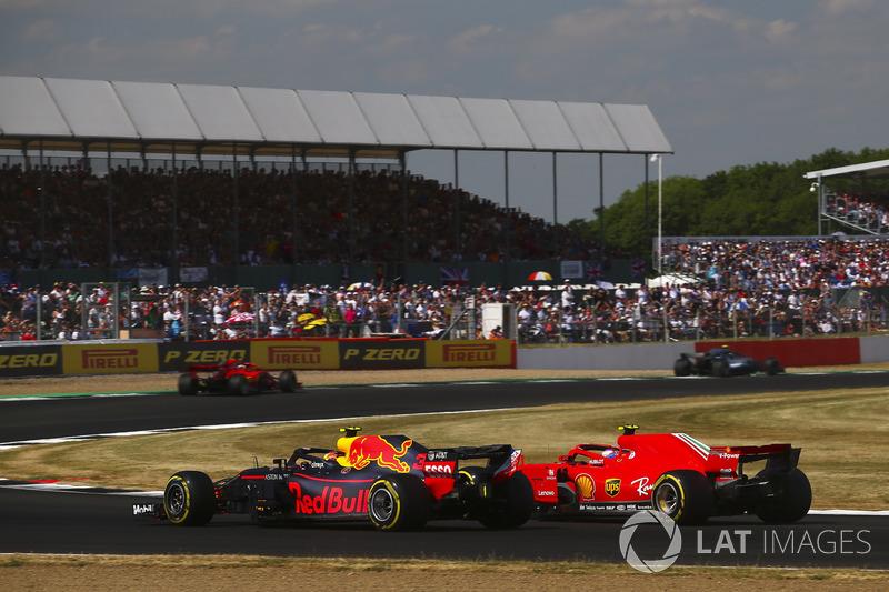 Кімі Райкконен, Ferrari SH71H, Макс Ферстаппен, Red Bull Racing RB14