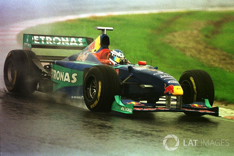 Жан Алези,Sauber (9 очков, один подиум)