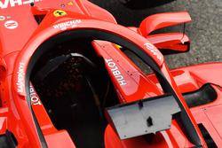 Система Halo и зеркала заднего вида Ferrari SF71H