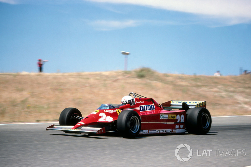 Pironi career trajectory paused in 1981, as he struggled with the Ferrari 126CK, especially in comparison with his teammate.