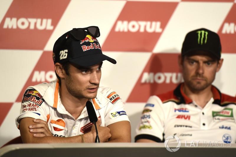 Conferencia de prensa, Dani Pedrosa, Repsol Honda Team