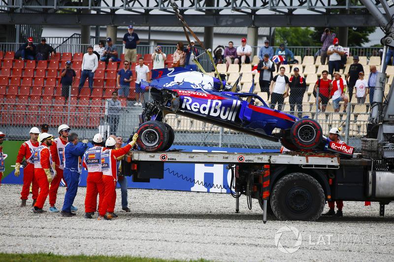 24. Автобот Toro Rosso STR13 Брендона Хартлі