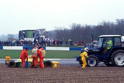 Dreher: Michael Schumacher, Benetton B193B