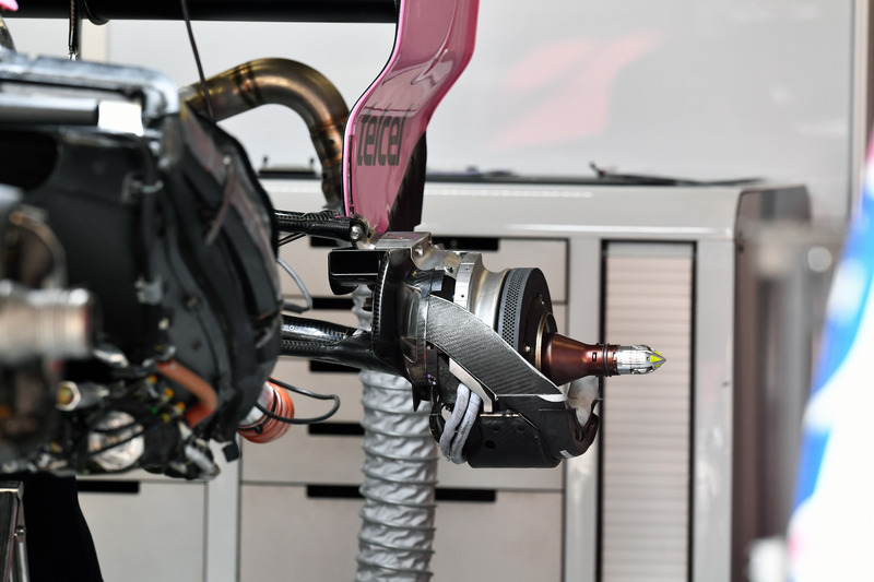 Кріплення колеса Force India VJM11