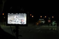 Auto's worden gefilmd