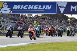 Start, Marc Marquez, Repsol Honda Team leidt