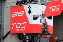 Vue détaillée du stand TDS Racing