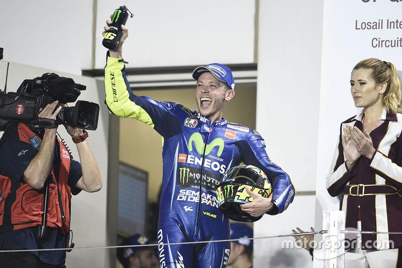 3. Valentino Rossi, Yamaha Factory Racing