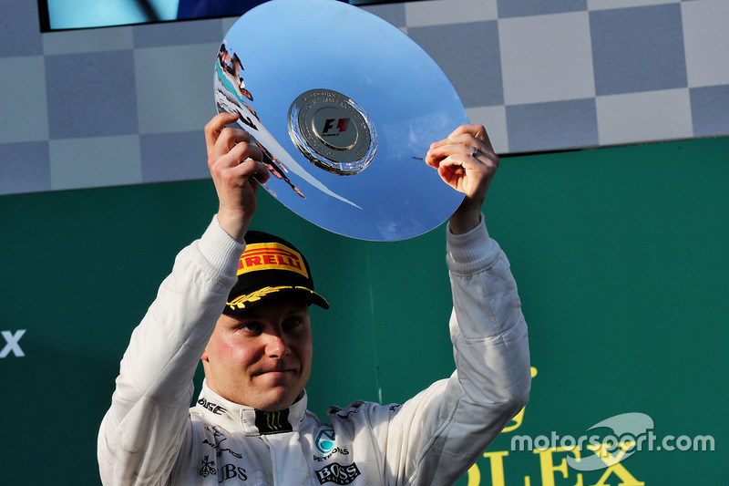 Podium: 3. Valtteri Bottas, Mercedes AMG F1
