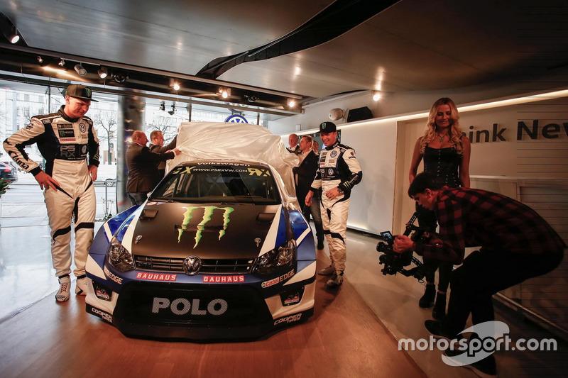 Petter Solberg und Johan Kristoffersson, PSRX Volkswagen Sweden, VW Polo GTi