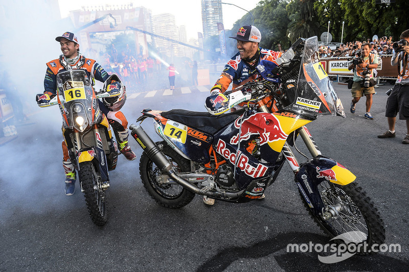 Matthias Walkner, Red Bull KTM Factory Racing, Sam Sunderland, Red Bull KTM Factory Racing