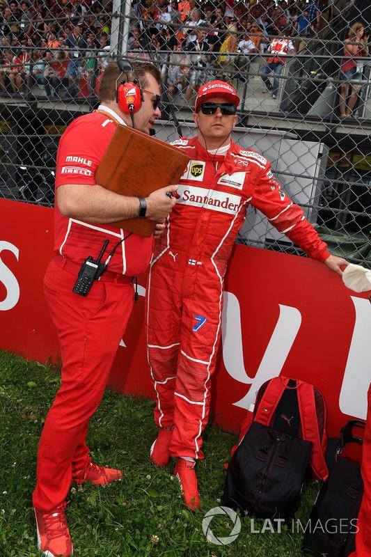 Кімі Райкконен, Ferrari, Дейв Грінвуд, гоночний інженер Ferrari