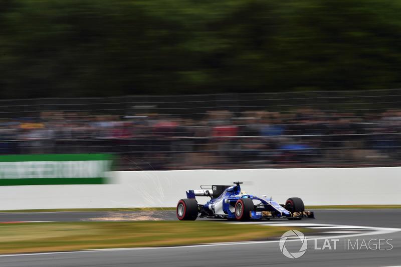Маркус Ерікссон, Sauber C36, іскрить