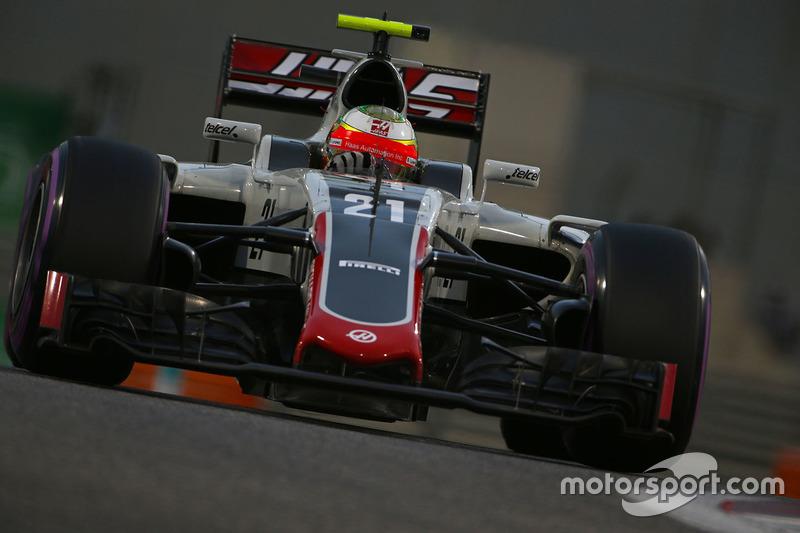 13: Esteban Gutierrez, Haas F1 Team VF-16