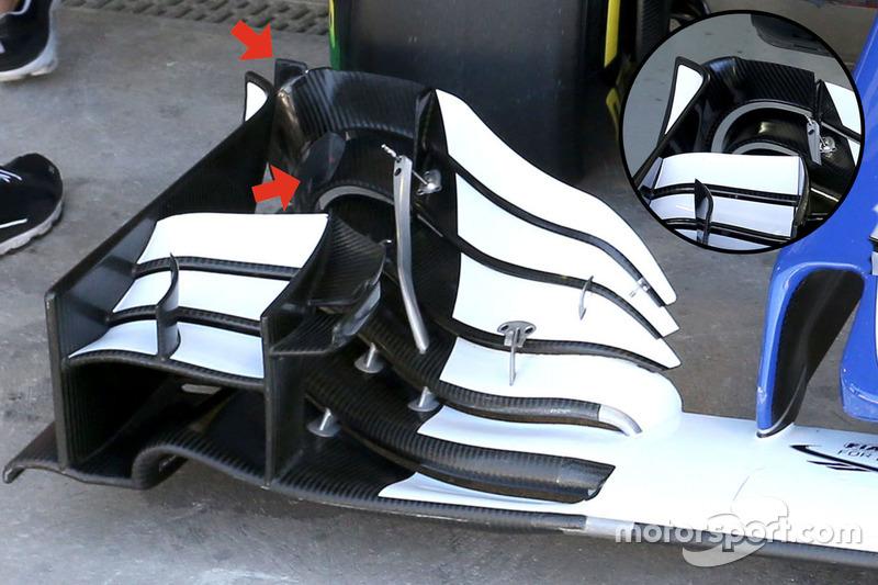 Переднє антикрило Sauber C35