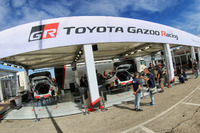L'assistance Toyota Racing